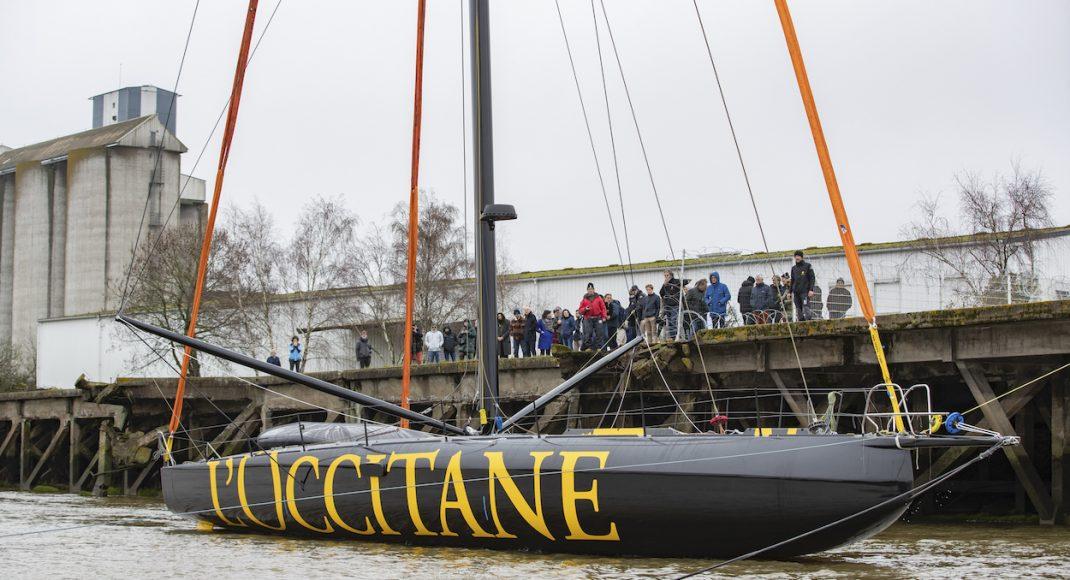 Launching the new Imoca 60 L'occitane, French Skipper Armel Tripon , Imoca 60 L'Occitane en Provence for the Vendée Globe 2020, designed by Sam Manuard, Build by Black Pepper, on January 31, 2020, Nantes, France - Photo : Pierre Bouras / DPPI