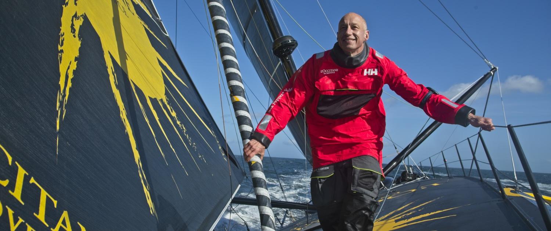 Armel Tripon skipper de L'Occitane en Provence