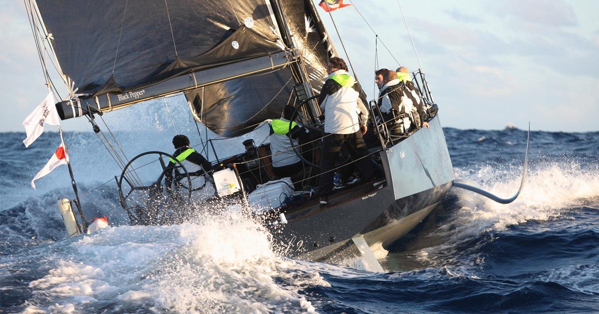 Code1 foiler Armel Tripon avec Black Pepper Yachts